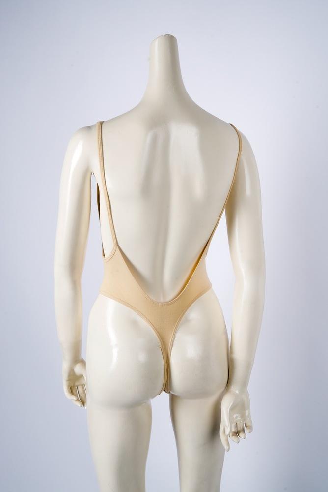 Photo of American Apparel Women's Cotton Spandex Sleeveless Deep Cut Bodysuit