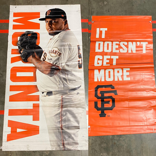 Photo of 2020 Black Friday Sale - 2019 Street Banner - #54 Reyes Moronta