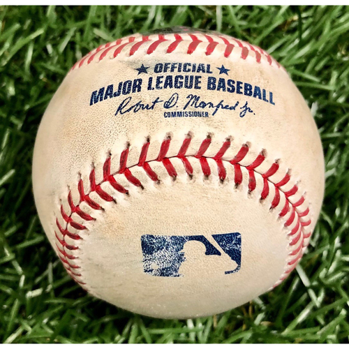 Photo of Game Used Baseball: Xander Bogaerts single off Blake Snell - September 11, 2020 v BOS