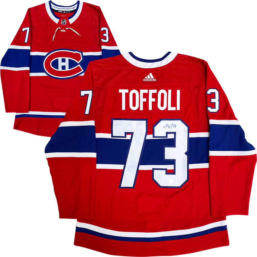 Tyler Toffoli Autographed Montreal Canadiens adidas Pro Jersey