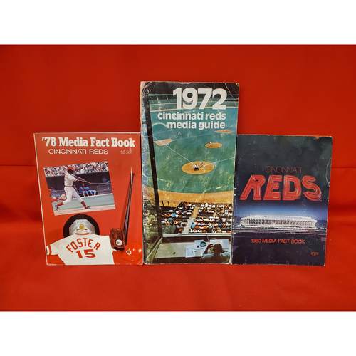 Photo of Cincinnati Media Book Collection:1972, 1978, 1980