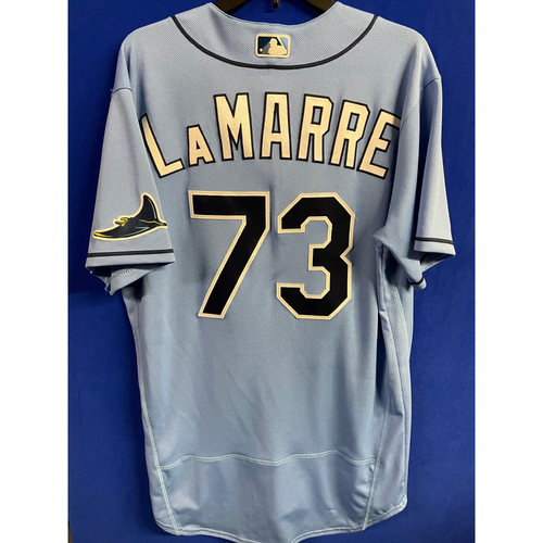 Photo of Game Used 2020 Spring Training Jersey: Ryan LaMarre - 1 Game - March 4 v TOR