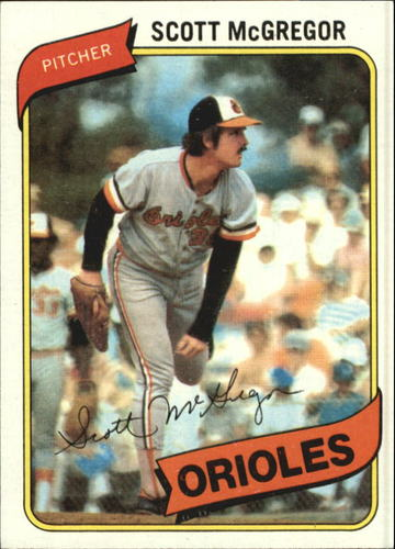 Photo of 1980 Topps #237 Scott McGregor