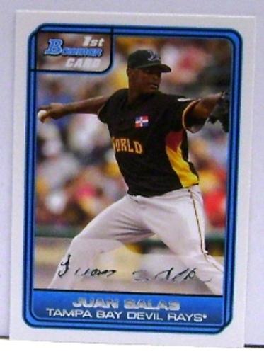 Photo of 2006 Bowman Draft Future's Game Prospects White #11 Juan Salas