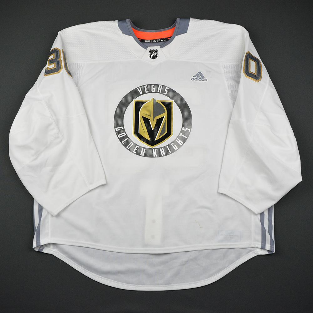 Malcom Subban Warmup Worn/Autographed Practice Jersey - Vegas Golden Knights