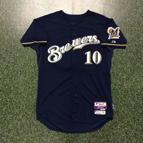 Luis Sardiñas 2015 Team-Issued Home Navy Jersey