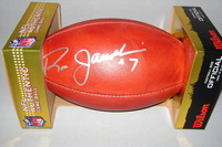 NFL - EAGLES RON JAWORSKI SIGNED AUTHENTIC FOOTBALL
