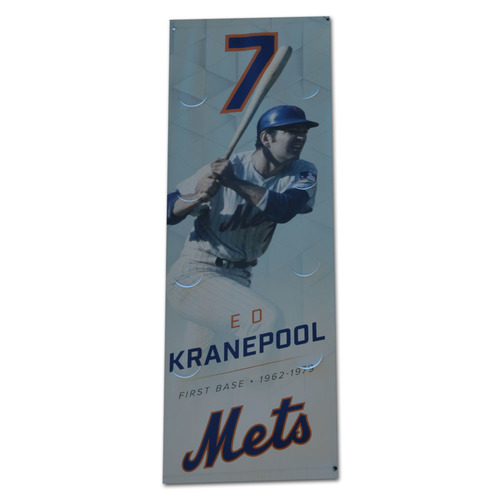 Photo of Ed Kranepool - Citi Field Banner - 2017 Season
