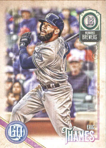 Photo of 2018 Topps Gypsy Queen #118 Eric Thames