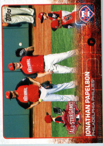Photo of 2015 Topps Update #US240 Jonathan Papelbon
