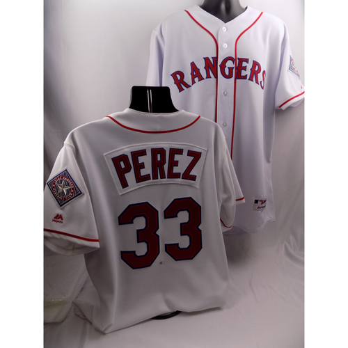 Photo of Game-Used 1999 Throwback Jersey - Martin Perez