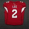 London Games - Cardinals Andy Lee game worn Cardinals jersey (October 22, 2017)
