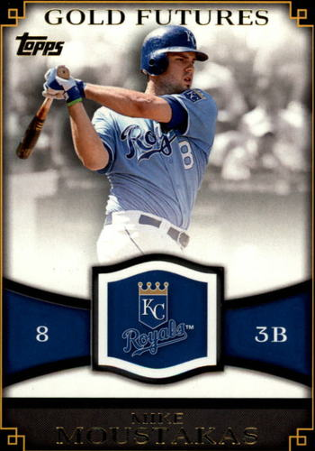 Photo of 2012 Topps Gold Futures #GF20 Mike Moustakas