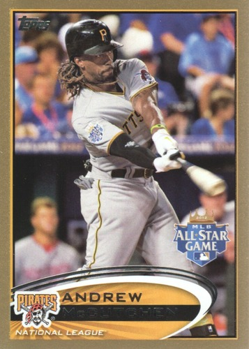 Photo of 2012 Topps Update Gold #US87 Andrew McCutchen