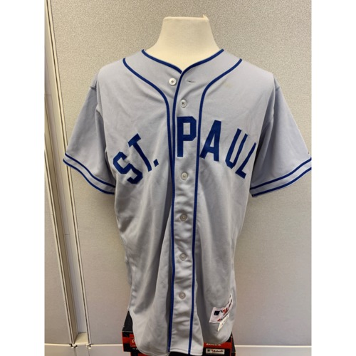 Photo of Minnesota Twins - Brian Duensing 1948 St. Paul Saints Jersey
