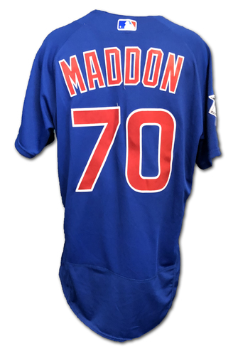 Photo of Joe Maddon Team-Issued Jersey -- Size 44 -- Spring Training 2019