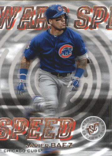 Photo of 2019 Stadium Club Warp Speed #WS14 Javier Baez