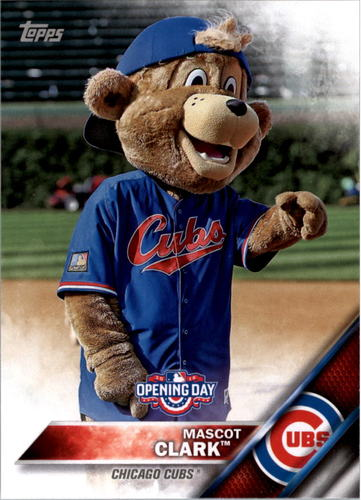Photo of 2016 Topps Opening Day Mascots #M8 Clark