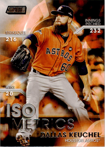 Photo of 2016 Stadium Club ISOmetrics #I4 Dallas Keuchel