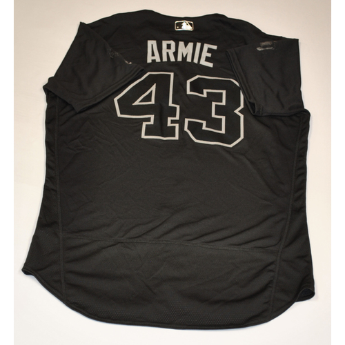 "Photo of Shawn ""ARMIE"" Armstrong Baltimore Orioles Team-Issued 2019 Players' Weekend Jersey"