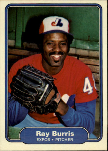 Photo of 1982 Fleer #184 Ray Burris