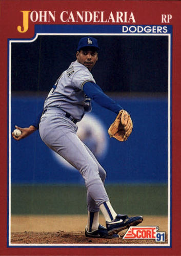 Photo of 1991 Score Rookie/Traded #32T John Candelaria