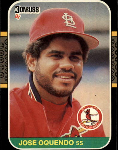 Photo of 1987 Donruss #510 Jose Oquendo