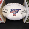 HOF - 49ers Dave Wilcox Signed NFL Auction Exclusive Panel Ball W/ 100 Seasons Logo