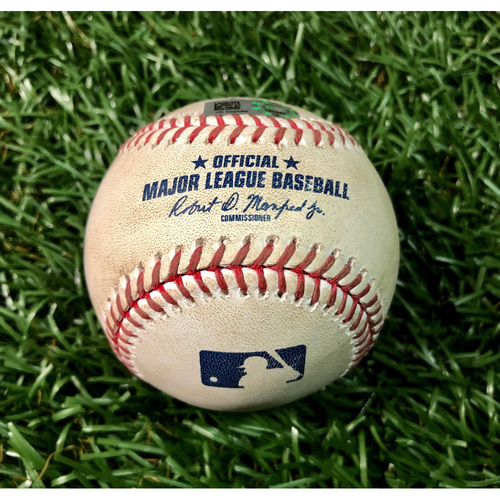 Photo of Game Used Baseball: Jose Martinez double off Martin Perez - August 5, 2020 v BOS
