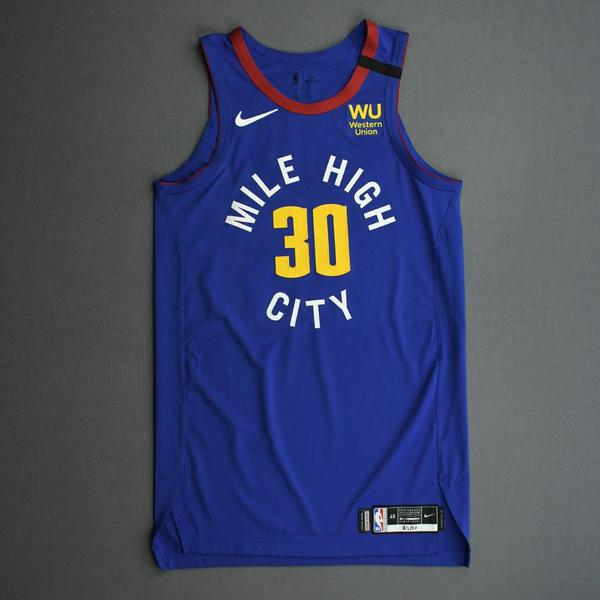 Image of Troy Daniels - Denver Nuggets - Game-Worn Statement Edition Jersey - 2019-20 NBA Season Restart with Social Justice Message