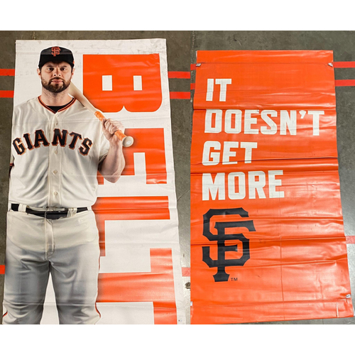 Photo of 2020 Black Friday Sale - 2019 Street Banner - #9 Brandon Belt