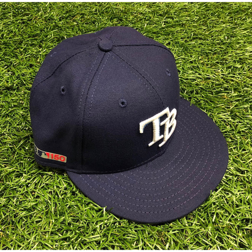 Photo of Opening Day Game Used Cap: Willy Adames #1 - Starting SS - March 28, 2019 v HOU