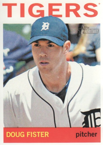 Photo of 2013 Topps Heritage #128 Doug Fister