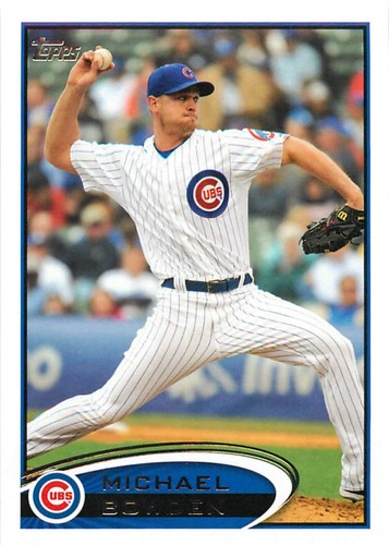 Photo of 2012 Topps Update #US43 Michael Bowden