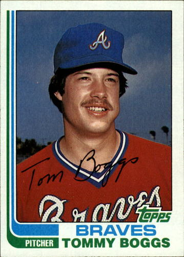 Photo of 1982 Topps #61 Tommy Boggs