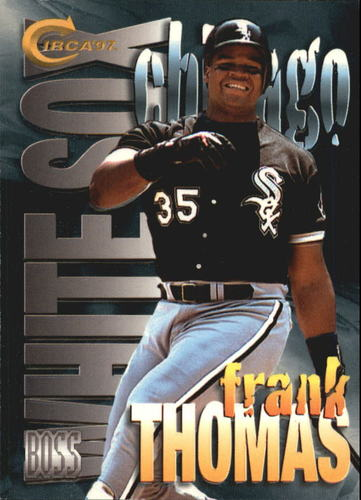 Photo of 1997 Circa Boss #18 Frank Thomas