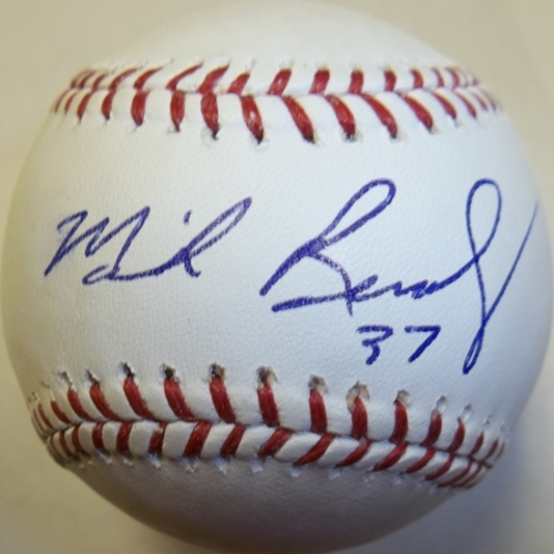 Photo of Mike Remlinger Autographed Baseball