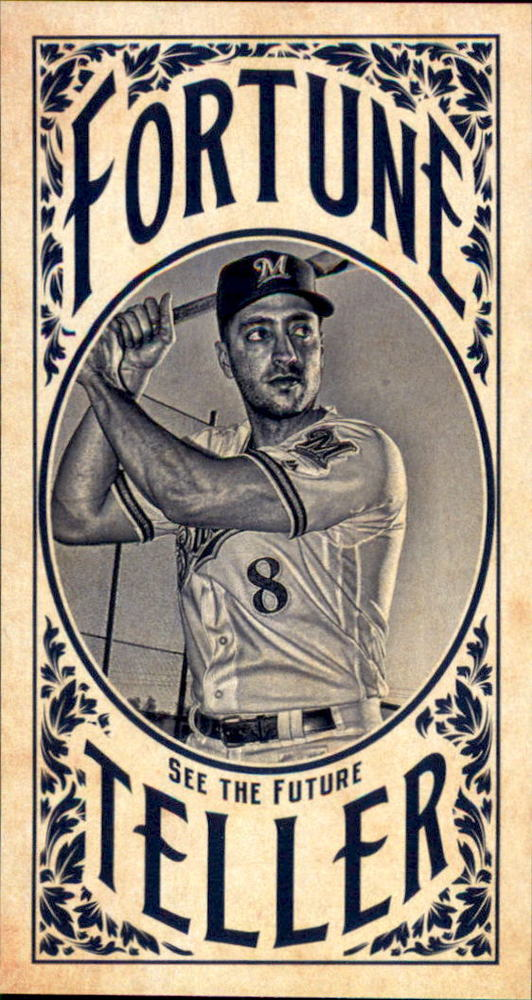 2017 Topps Gypsy Queen Fortune Teller Mini #FTRB Ryan Braun