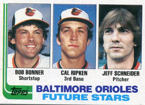 Photo of 1982 Topps #21 Cal Ripken Rookie Card -- Hall of Famer