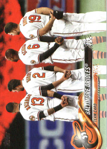 Photo of 2018 Topps #292 Baltimore Orioles