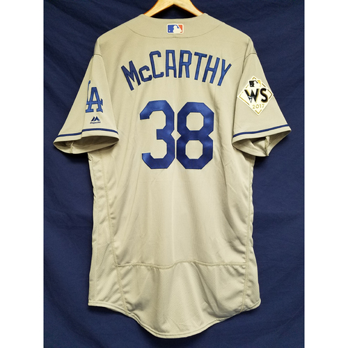 Photo of Brandon McCarthy 2017 Road World Series Team-Issued Jersey