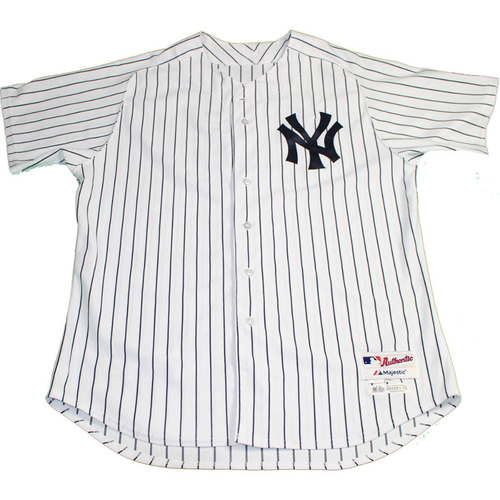 Photo of New York Yankees 2017 Team Issued - Home Jersey. Jersey Size - 46