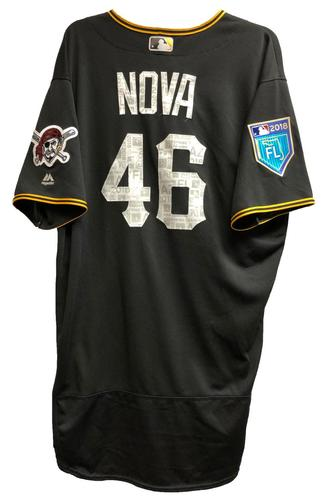 Photo of Ivan Nova Team-Issued 2018 Spring Training Jersey