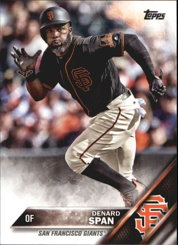 Photo of 2016 Topps Update #US128 Denard Span
