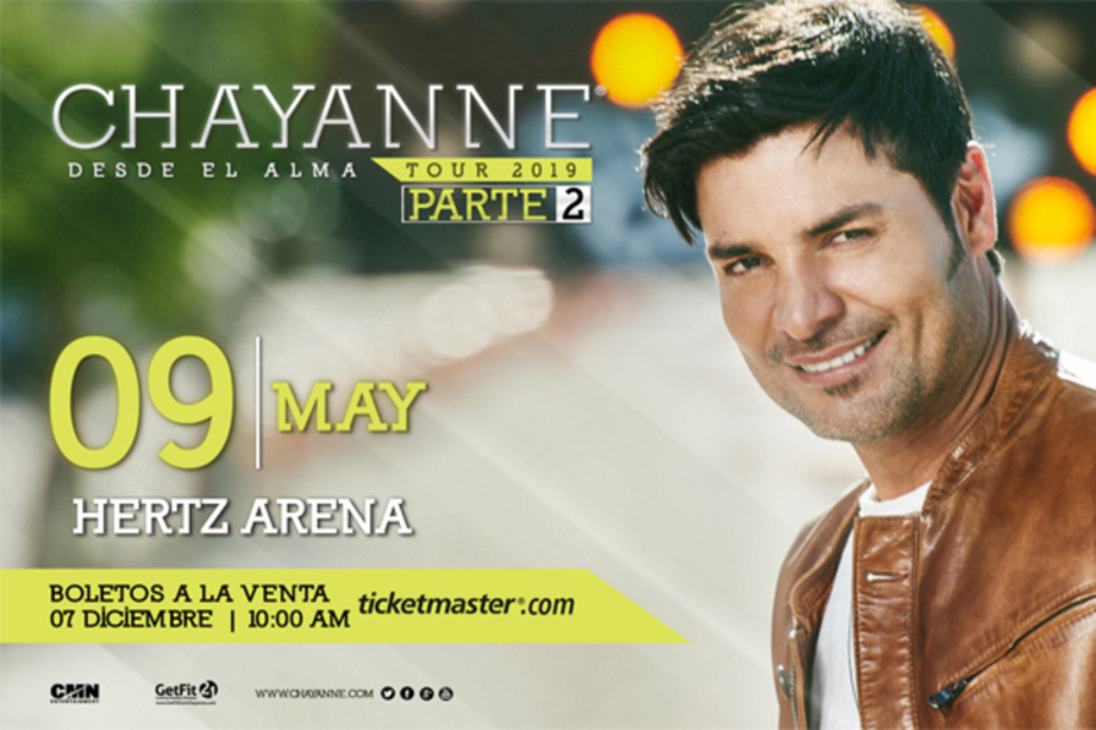Photo of Chayanne -Desde La Alma- May 9th, 2019
