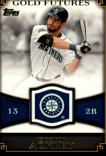 Photo of 2012 Topps Gold Futures #GF6 Dustin Ackley