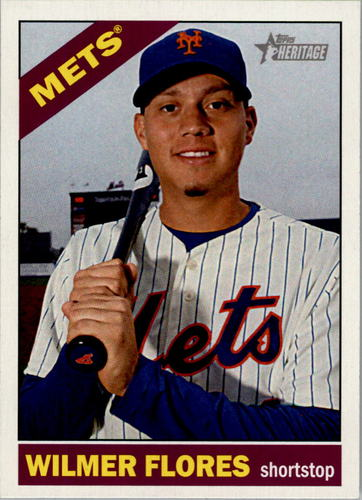 Photo of 2015 Topps Heritage #41 Wilmer Flores