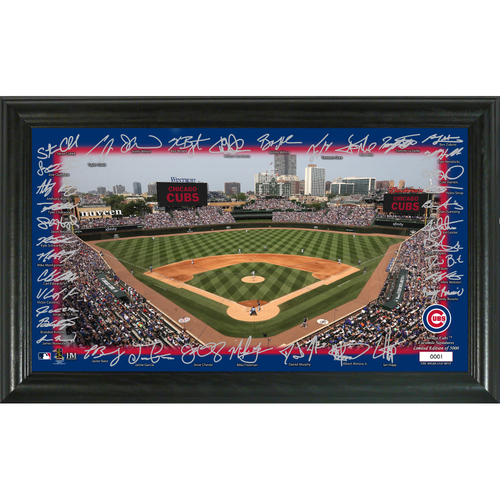 Photo of Chicago Cubs Signature Field Photo Frame