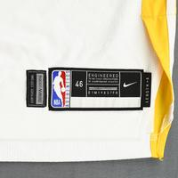 Stephen Curry - Golden State Warriors - 2019 NBA Finals - Game 3 - Game-Worn White Association Edition Jersey - Playoff Career-High 47 Points Scored