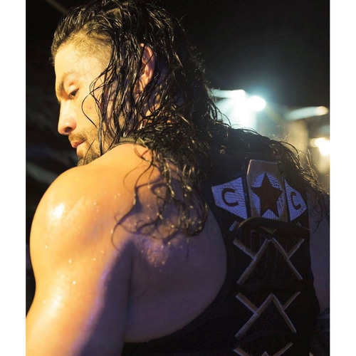Roman Reigns WORN & SIGNED Connor's Cure Vest (SmackDown - 09/24/19)